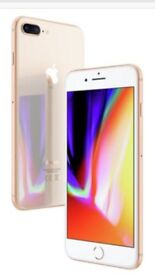 iPhone 8 64g in gold unopened