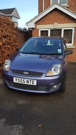 Ford Fiesta Zetec Amethyst - 5 door Petrol 1.4 Fully maintained 1 registered Keeper Bluetooth
