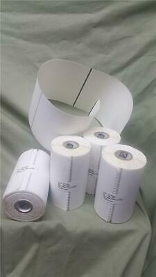 4 Rolls Zebra 4 X 6 In Direct Thermal Labels - With Black Sensing Mark