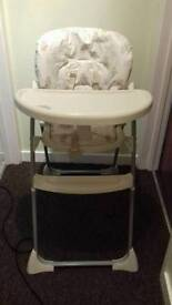 Mother care high chair