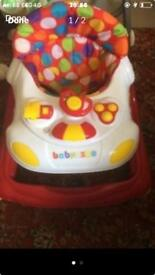Baby walker lights and sounds