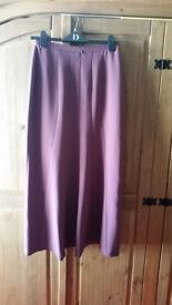 Smart Laura Ashley burgundy skirt
