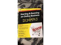 Online business book. New