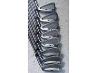 JOHN LETTERS MM- FORGED PROTOTYPE GOLF IRONS