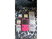 Pink gameboy Nintendo