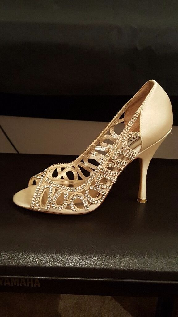 Dune Ivory Diamonte Shoes size 5 - worn once