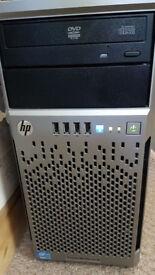 HP ProLiant ML310e Gen8 Server with 4x2TB drives, 24GB RAM