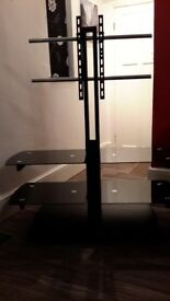 For Sale Immaculate Black Tv Stand ..