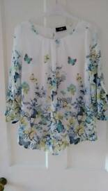 Size S Smock Top from Wallis