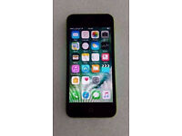 APPLE IPHONE 5C 16GB GREEN O2 WITH RECEIPT