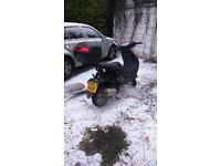 Peugeot vivacity 50cc for spares or repair.
