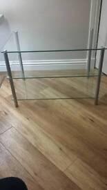 Small Glass TV Unit