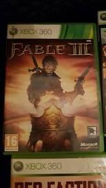 Xbox 360 games bundle x5