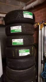 4 x 205 55 15 tyres brand new