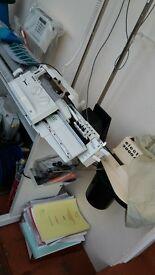 passap knitting machine with motor