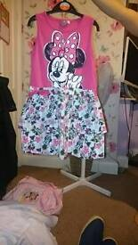 Age 5 to 6 minnie mouse dress