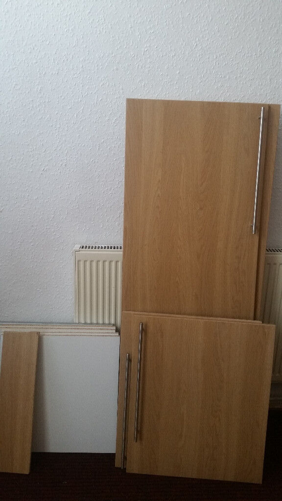 Tall Kitchen Cabinet Doors With Soft Close Hinges And 6 Shelve