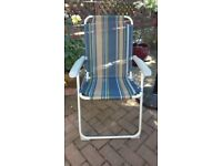 Price for 2 chairs Texiline Folding Chairs