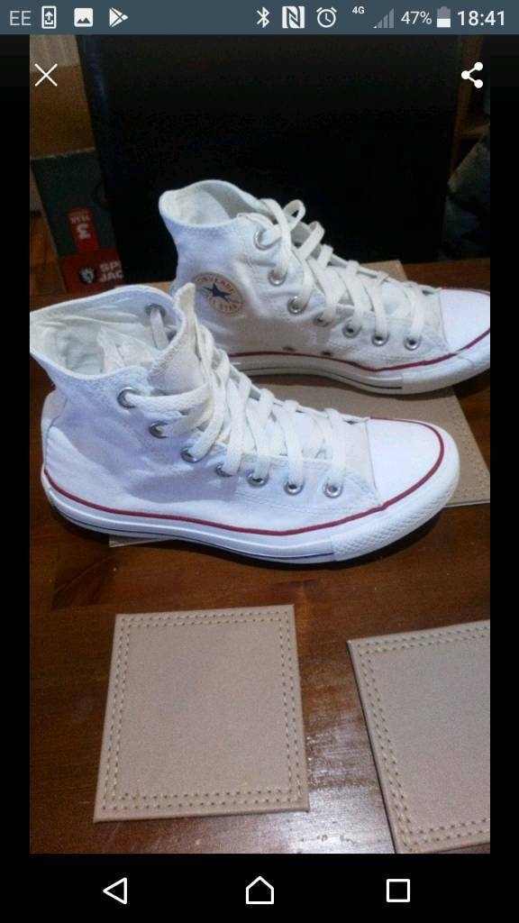 23c17107b8 Size 4 converse high tops
