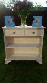 Shabby chic bookcase / Hall table
