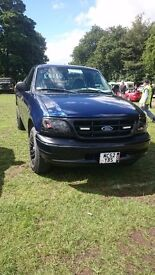 Ford f150 XL 4.2 V6 petrol only 77000 KMS