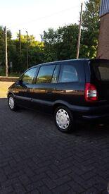 2004 Vauxhall Zafira. not clio yaris peugeot citroen