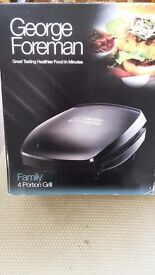 George Foreman Grill Brand New in Box