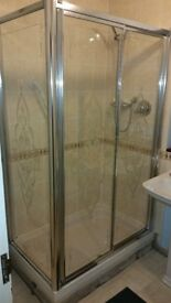 Amadeus Shower Enclosure With Shower Tray & Waist