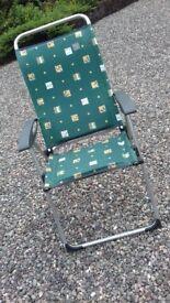 comfortable garden chair