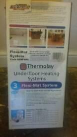 Underfloor heating system.
