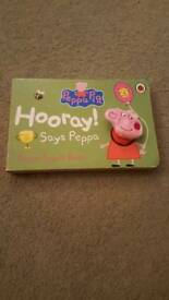 Peppa pig finger book