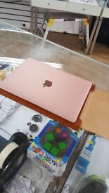 """macbook rose gold 12"""" GRAB A BARGIN !!!!!!"""