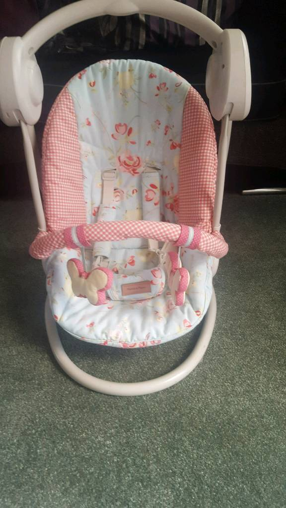 Mothercare swing in pink