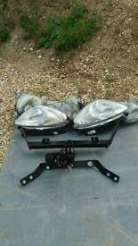 Picassio head lights still boxed .. towbar brand new