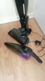 Russell hobbs hoover vacuum cleaner cordless upright with dust devil
