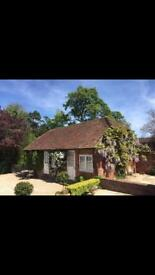1 bedroom cottage available to rent from Monday- Thursday/Friday in Basingstoke