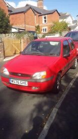 FORD FIESTA .FOR SPARES OR REPAIR.