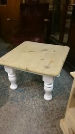 Solid Pine /White Coffee table