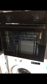 Logik Black Single Electric Fan Assisted Oven New and Unused