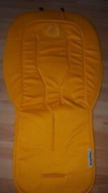 Bugaboo seat liner. yellow