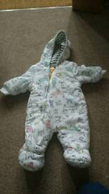 Joules baby suit