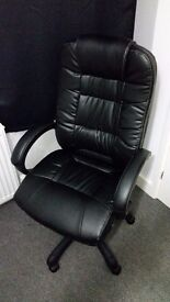 Parma Executive Leather Office Chair
