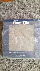 6 boxes of brand new Floor Tiles!!!