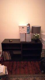 Tv unit/storage side board/book case