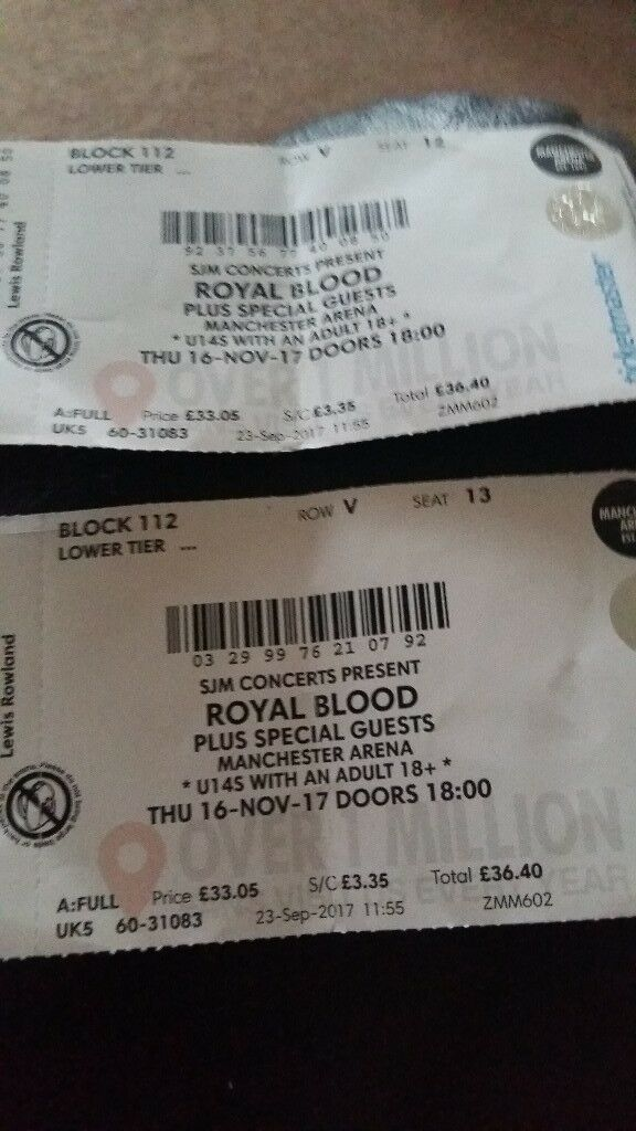 Royal blood tour tickets