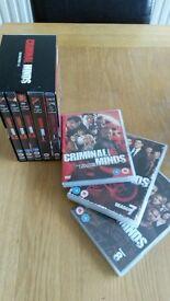 USA and GB Crime Seasons (DVDs)