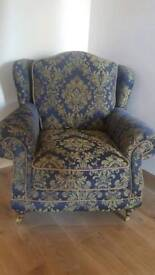 Beautiful statement arm chair