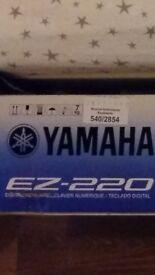 YAMAHA EZ 220 .. JUST LIKE BRAND NEW !!