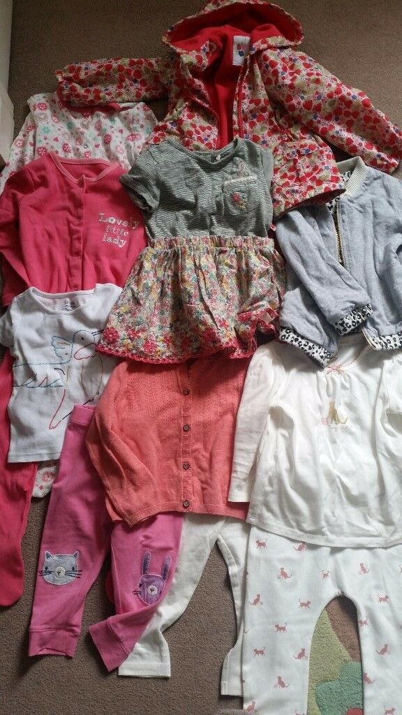 Girl clothes bundle 12-18months