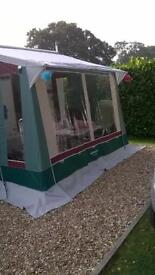Trio awning midi excellent with light poles